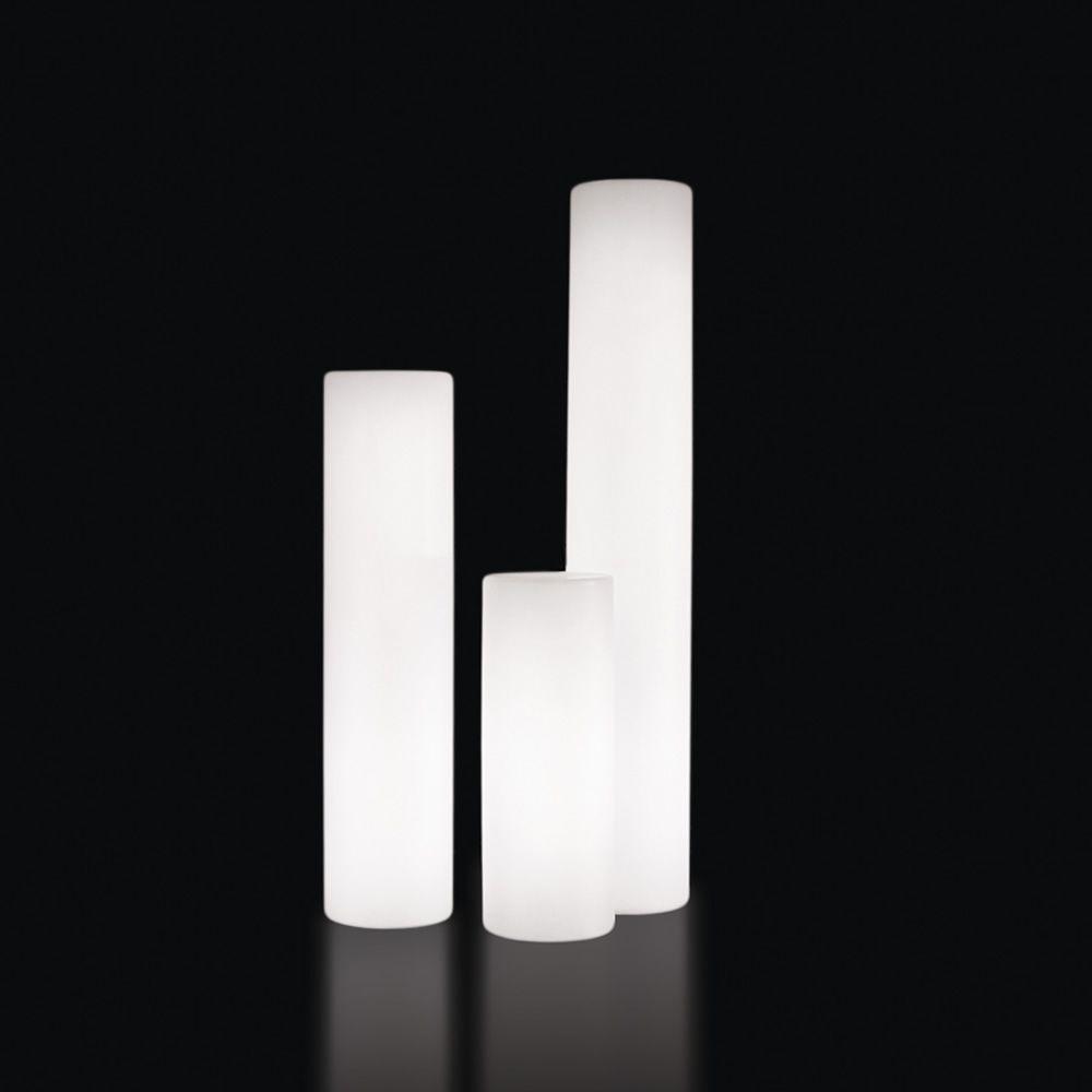 Fluo lampada da terra slide in polietilene diverse Lampade da esterno da terra ikea