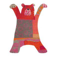 Xian Kids 410 - Tappeto per bambini a forma di orsetto, diversi colori disponibili