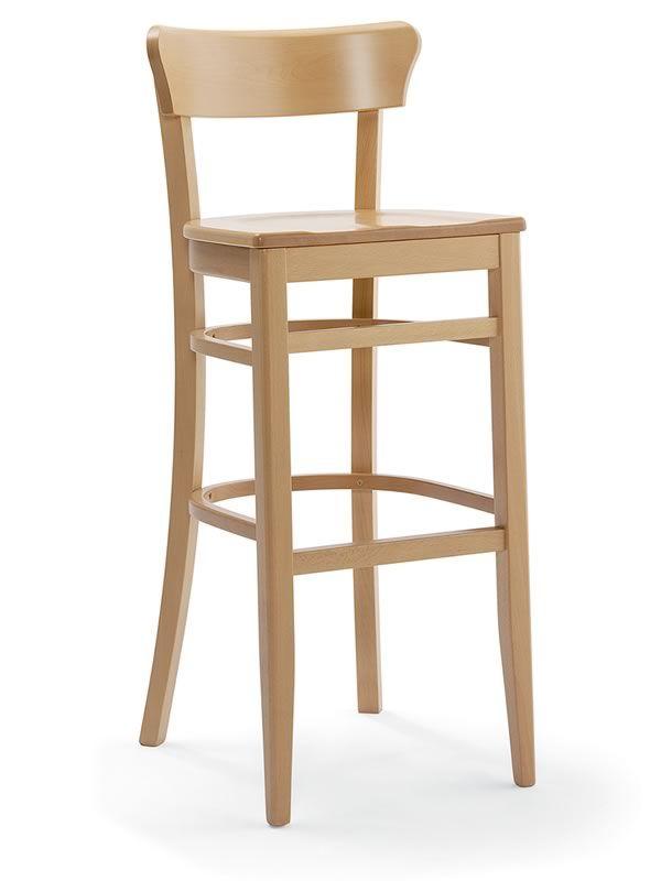 Sp10 taburete r stico de madera de haya altura asiento for Taburetes de madera rusticos
