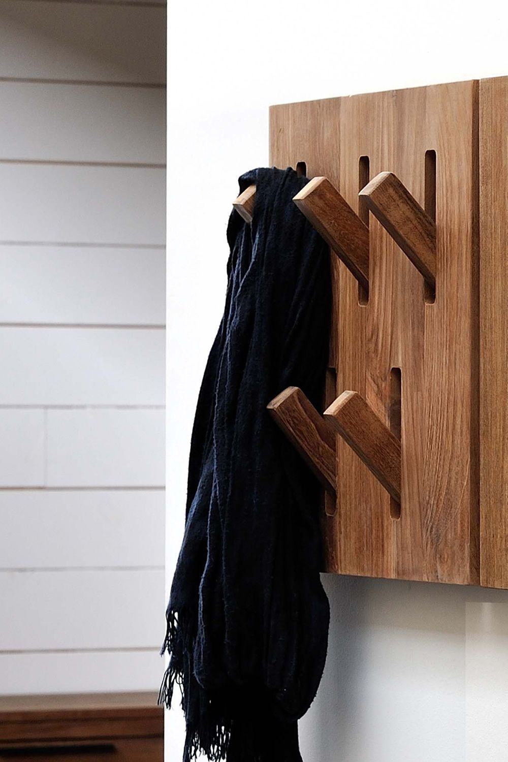 Utilitle H Ethnicraft Wall Coat Rack Made Of Wood With