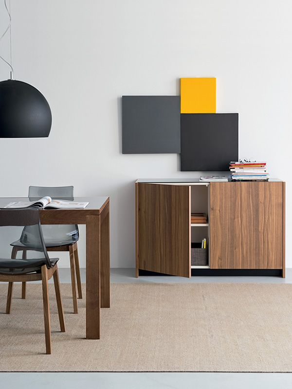 Cb6100 2 gloria mobile credenza connubia calligaris in for Mobili calligaris