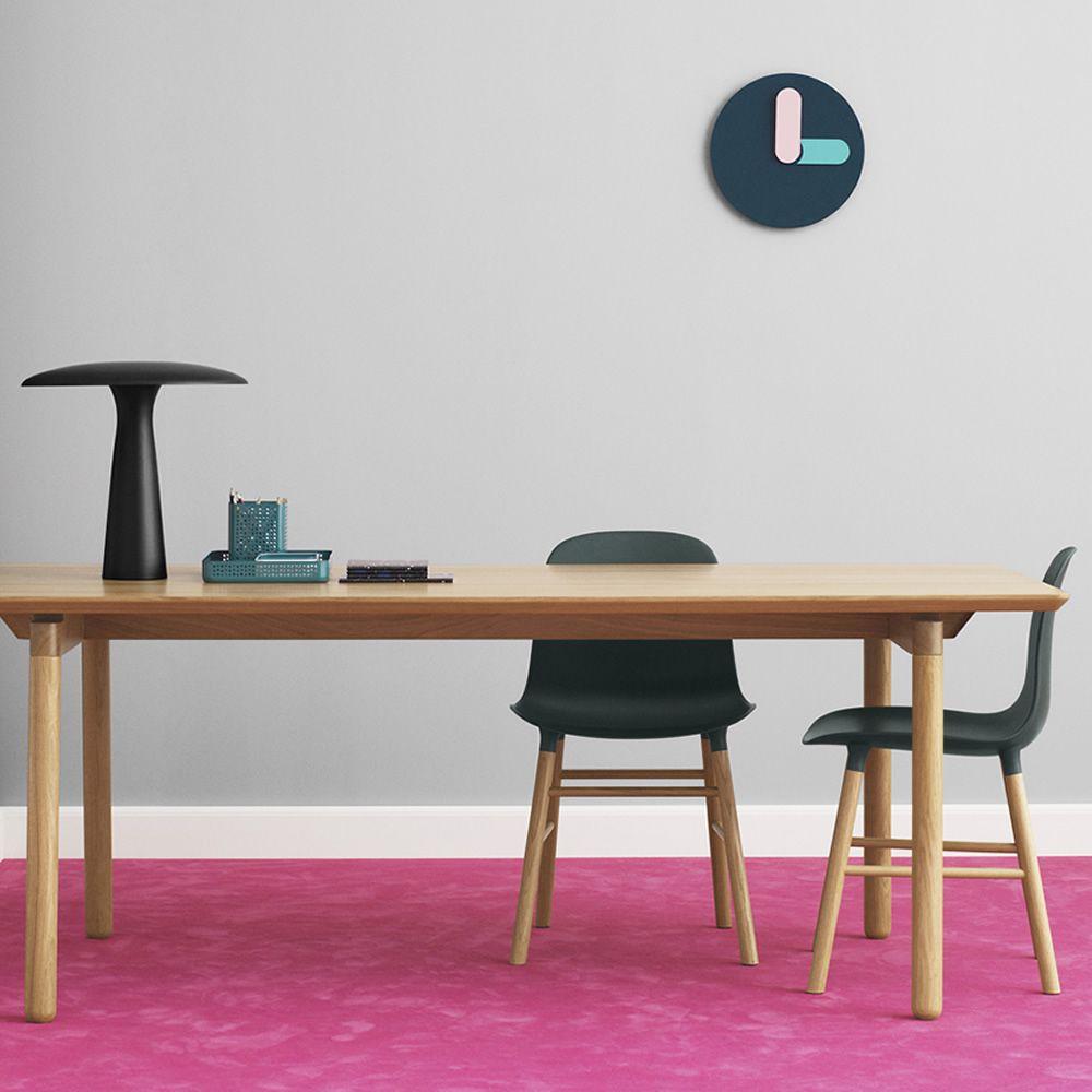 bold normann copenhagen wall clock made of aluminium sediarreda online sale. Black Bedroom Furniture Sets. Home Design Ideas