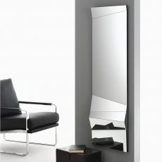 Illusion - Specchio di design Bontempi Casa, posizionabile orizzontale o verticale