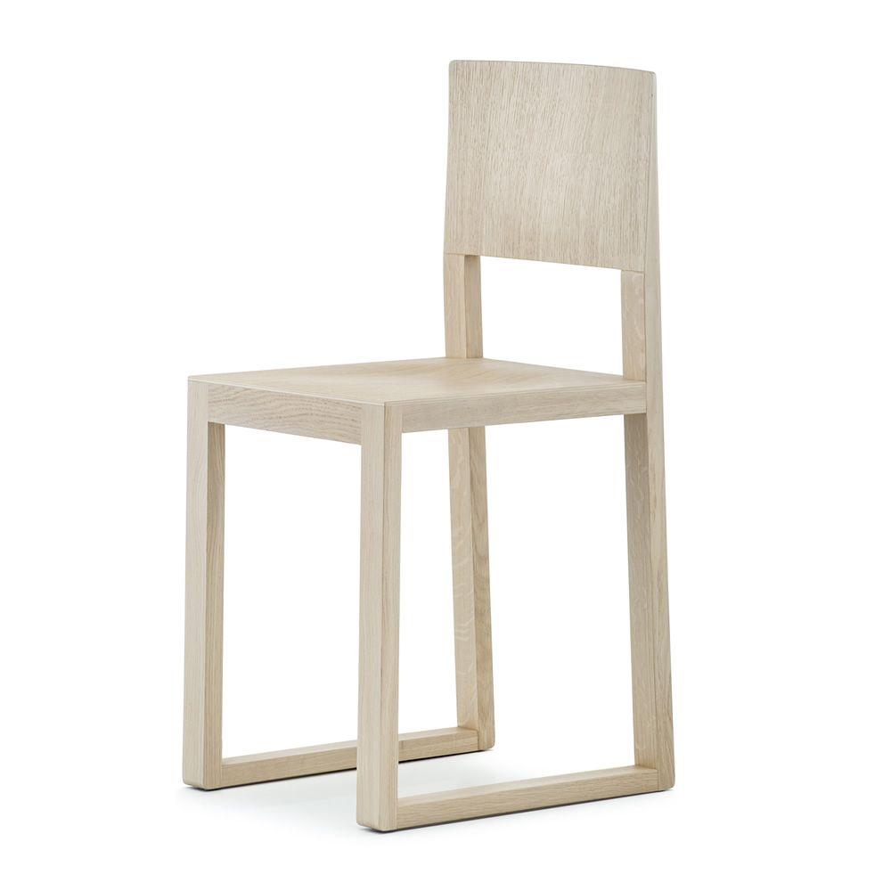 Brera 380 - Sedia Pedrali di design in legno massello di rovere ...