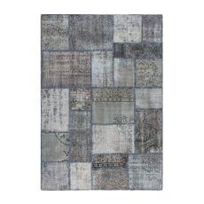 Antalya Grey - Moderno tapete de lana pura virgen