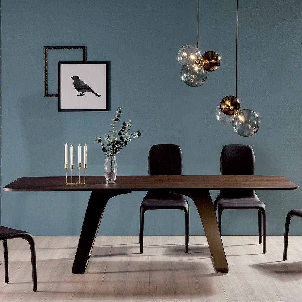 Brenta-R 8057 - Feststehender Tisch Tonin Casa aus Metall ...