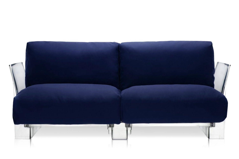 Pop outdoor sofa canap design kartell id al pour la for Raviver couleur canape tissu
