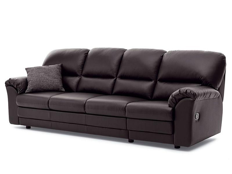 oscar divano canap 4 places avec 2 places reclinables. Black Bedroom Furniture Sets. Home Design Ideas