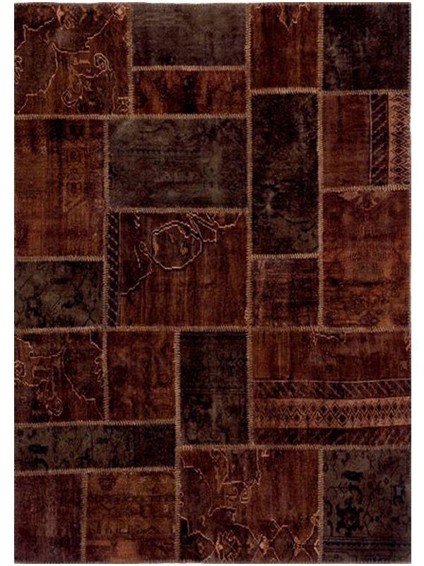 antalya brown brauner teppich aus reiner schurwolle handgekn pft in verschiedenen gr en. Black Bedroom Furniture Sets. Home Design Ideas