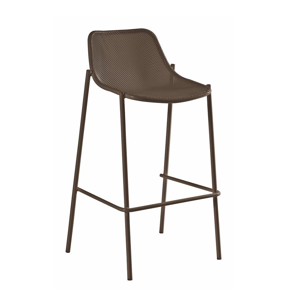 round s barhocker emu aus metall f r garten stapelbar. Black Bedroom Furniture Sets. Home Design Ideas