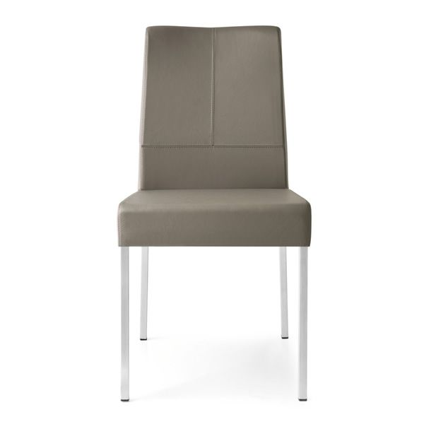 cb1448 lh berliner chaise connubia calligaris en m tal rev tue en cuir v ritable sediarreda. Black Bedroom Furniture Sets. Home Design Ideas