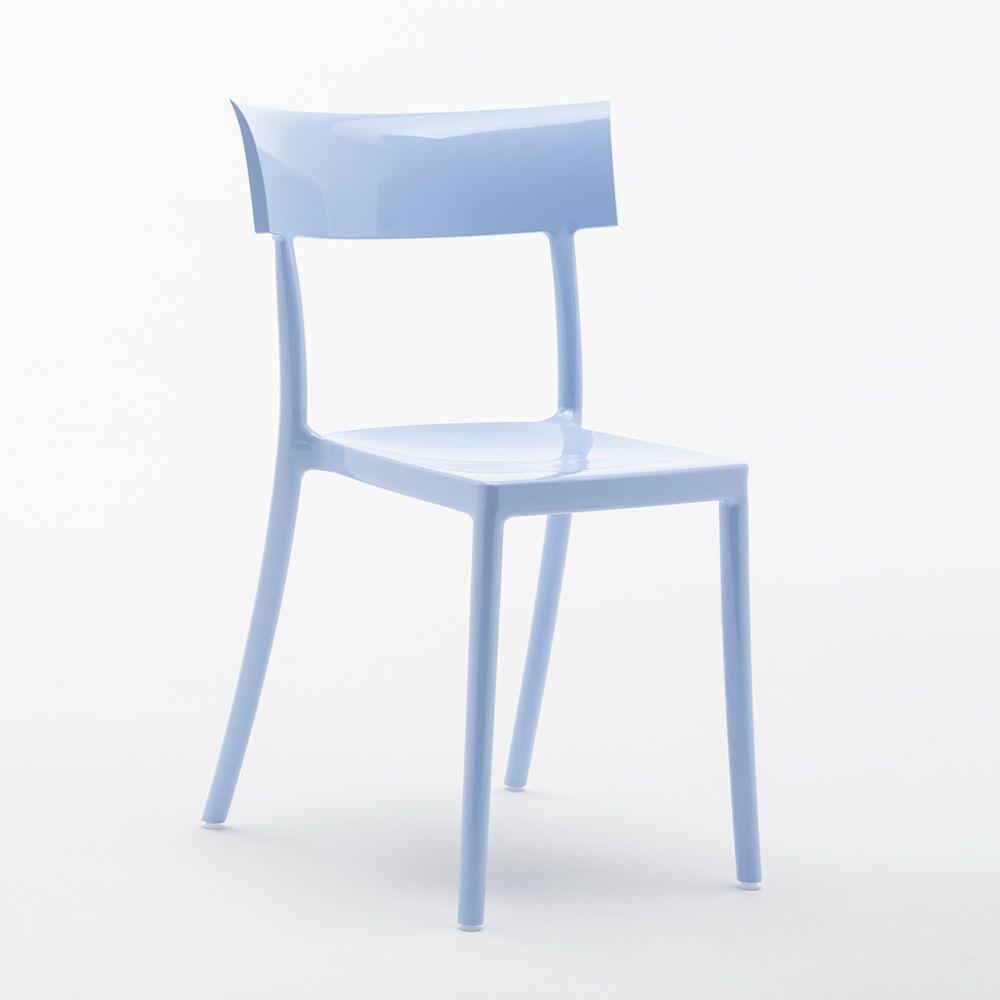 Catwalk sedia kartell di design in policarbonato impilabile anche per esterno - Sedia di design ...