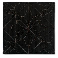 7131 Delight - Tapis carré Calligaris en laine et en lin, 200 x 200 cm