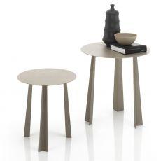 Tao - Tavolino di desing Bontempi Casa, in metallo laccato, diversi colori e dimensioni disponibili