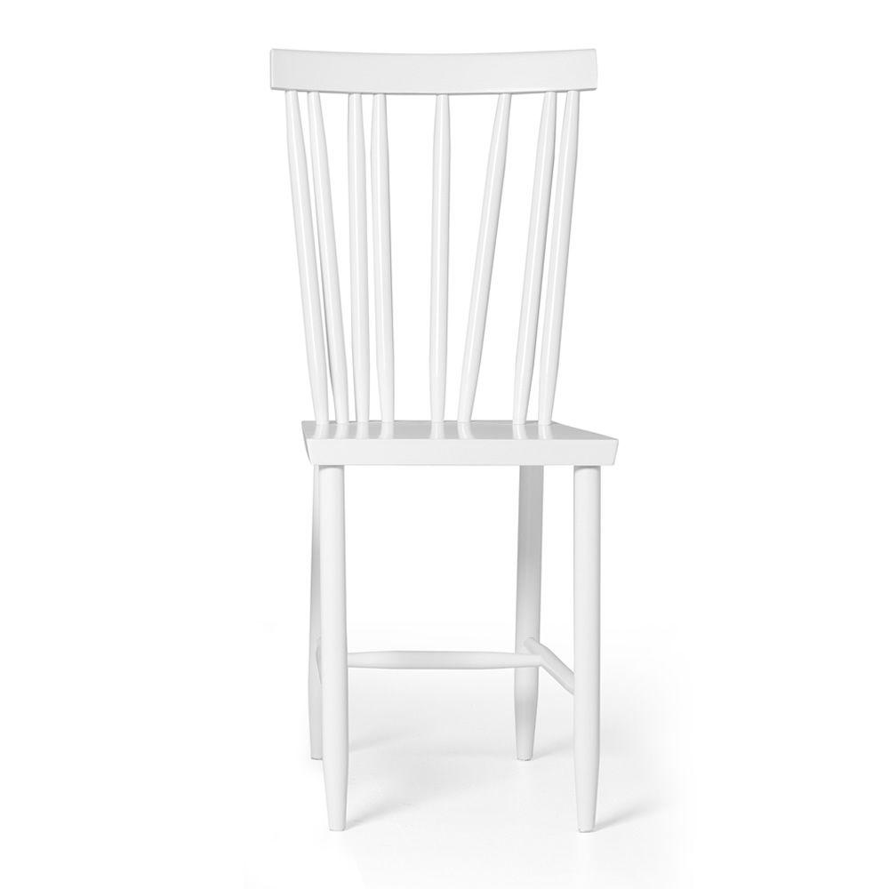 chaise laqu blanc design la maison. Black Bedroom Furniture Sets. Home Design Ideas