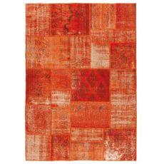 Antalya Orange - Tapis moderne en pure laine vierge