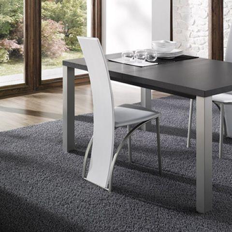 23l idealsedia design stuhl aus metall und for Design stuhl metall