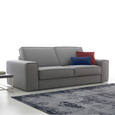 Harold - 2 seater sofa, totally removable covering, different upholsteries and colors available