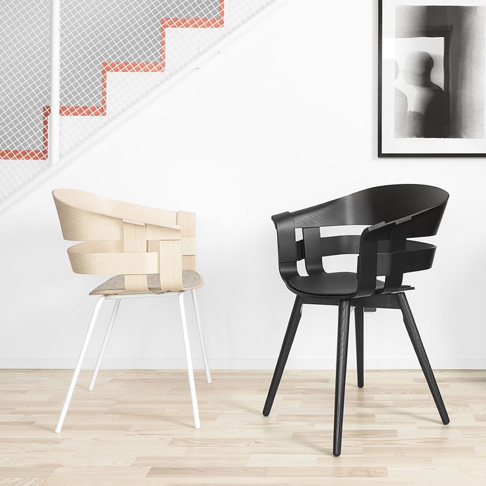 wick stackable chair made of metal seat in veneered wood also with seat cushion different. Black Bedroom Furniture Sets. Home Design Ideas