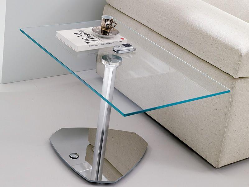 move: höhenverstellbarer beistelltisch aus metall, mit, Moderne