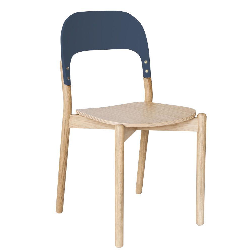 Paula chaise design en bois sediarreda for Chaise bois design