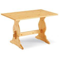 Fratino Fisso - Tavolo in pino, disponibile in diverse misure e colori