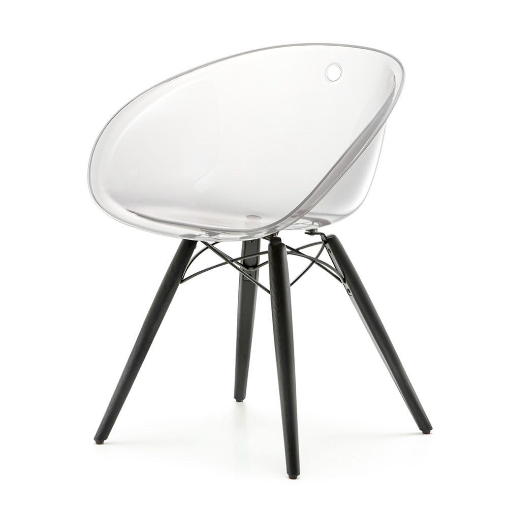 gliss 904 chaise pedrali avec structure en bois et assise. Black Bedroom Furniture Sets. Home Design Ideas