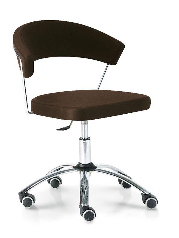 Cs624 new york chaise bureau connubia calligaris tournante et r glable en h - Chaise de bureau reglable en hauteur ...