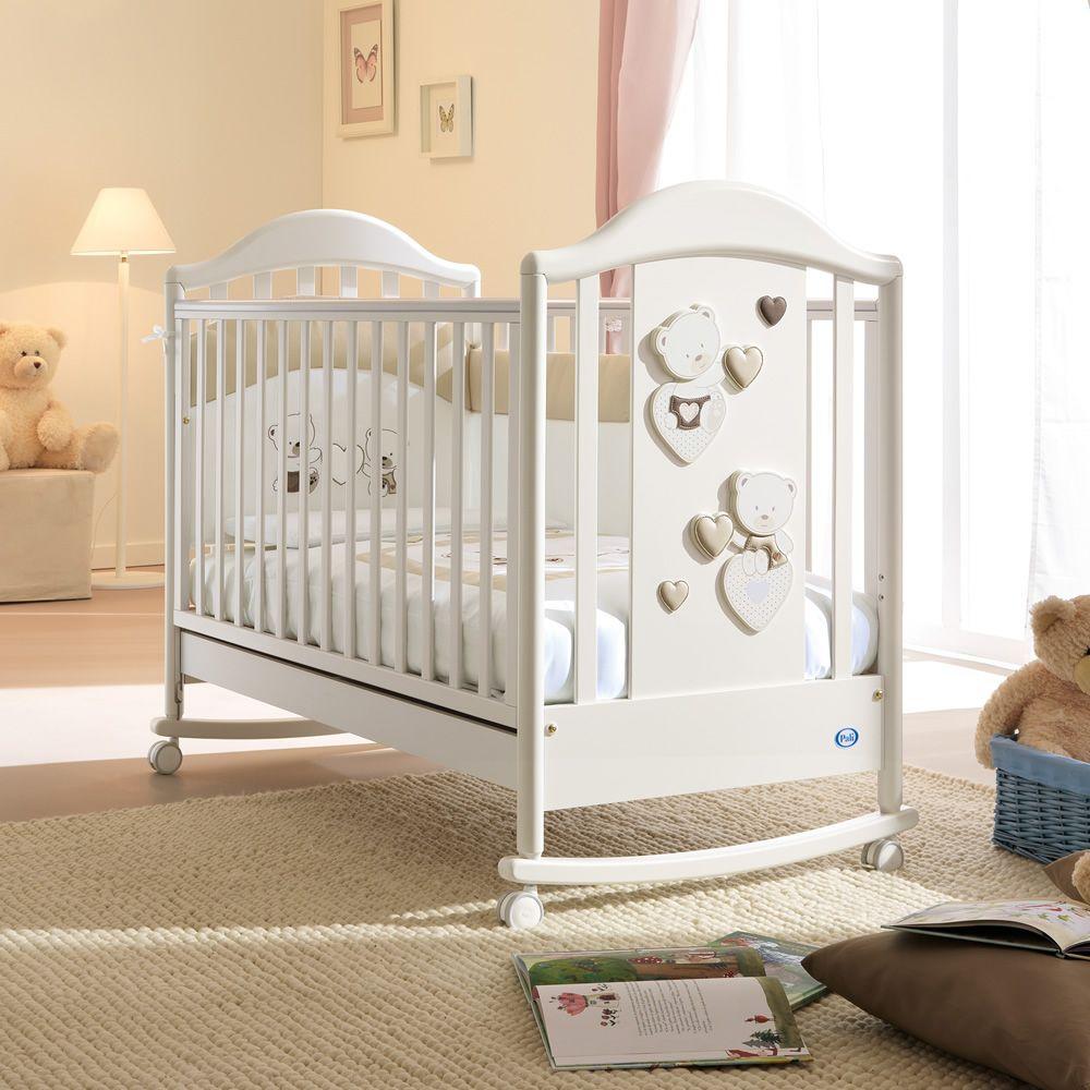 c line baby lit b b pali en bois avec tiroir sommier lattes r glable en hauteur. Black Bedroom Furniture Sets. Home Design Ideas