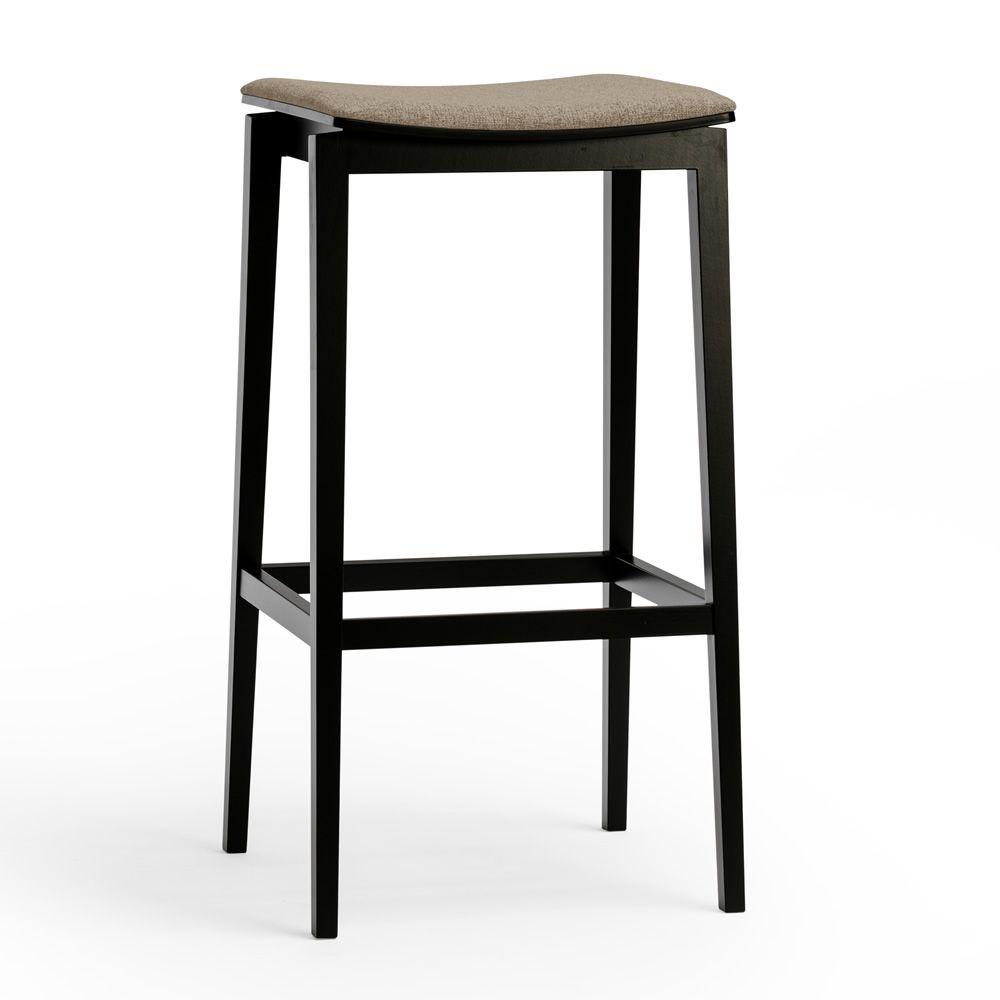 stockholm stool hocker ton aus holz mit gepolstertem. Black Bedroom Furniture Sets. Home Design Ideas