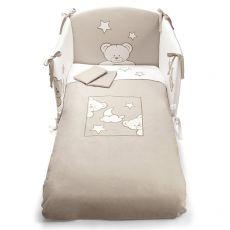 Georgia set - Set letto Pali con paracolpi, piumotto sfoderabile e federa cuscino