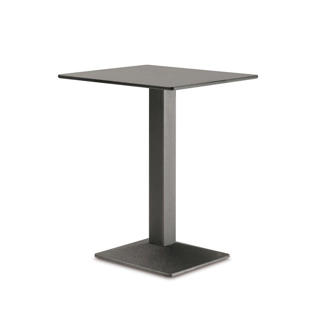 03b94379538d02 Quadra 4160 - Piétement pour table de bar, en métal peint, avec plateau,