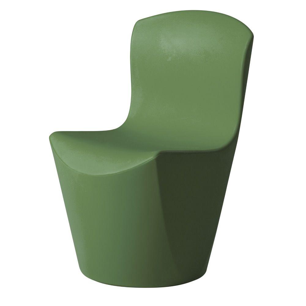 zoe stuhl slide aus polyethylen auch mit led beleuchtungssystem auch f r den garten sediarreda. Black Bedroom Furniture Sets. Home Design Ideas