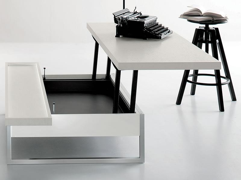Scrivania da soggiorno scrivania ovale | Notteazzurrajesi