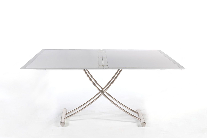 Up down tisch aus stahl verstellbar und verl ngerbar for Tisch design 24