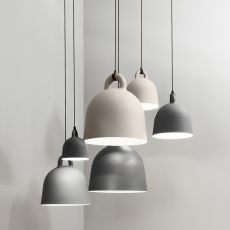 Bell - Normann Copenhagen pendant lamp made of aluminium, different colours and sizes available