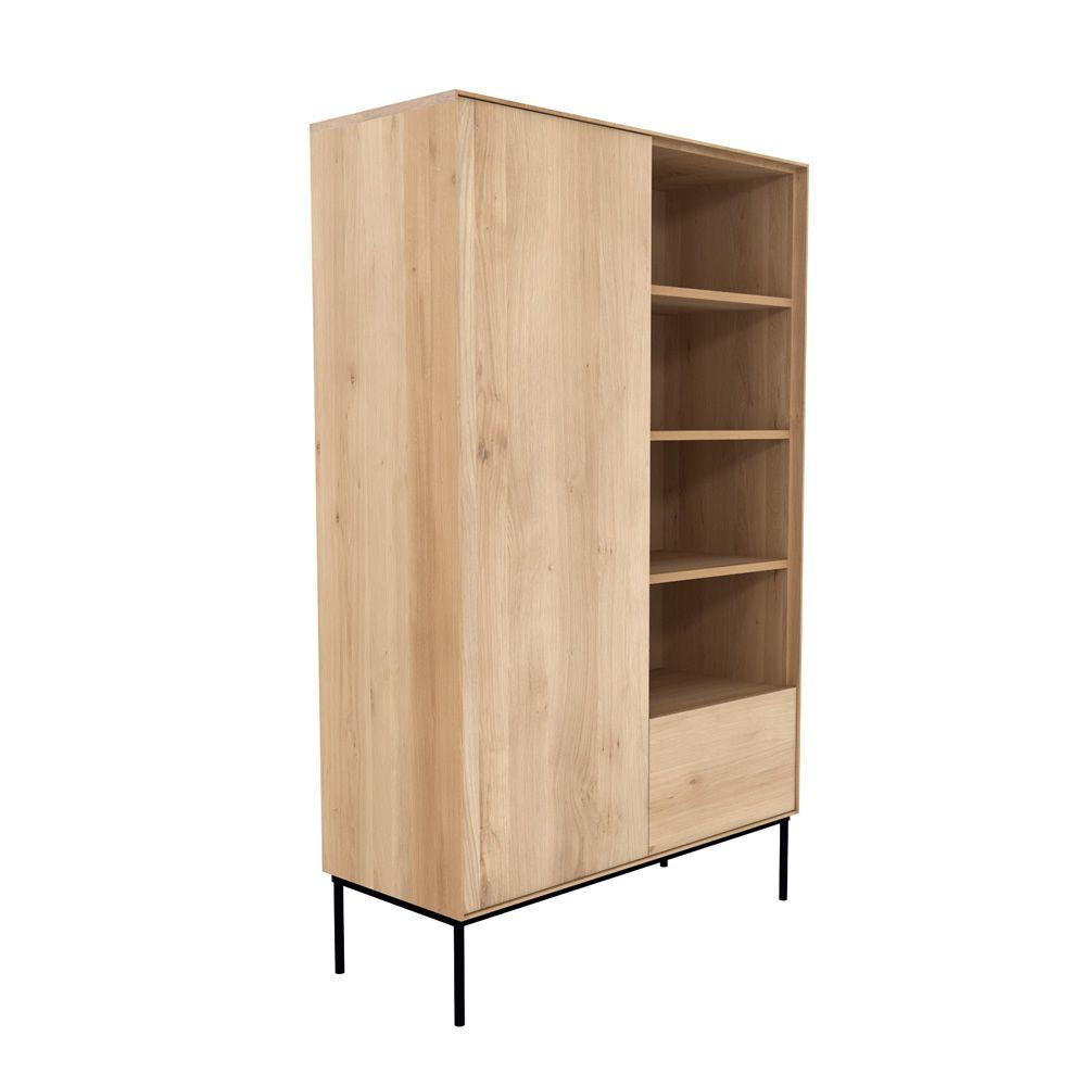 Bird b mueble de sal n librer a ethnicraft de madera - Mueble libreria salon ...