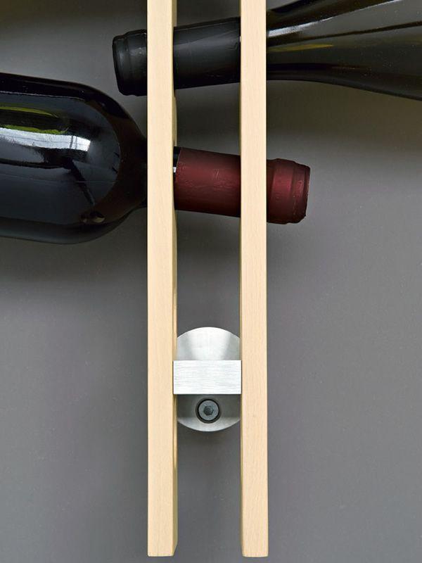 Cs5052 arsenal portabottiglie calligaris in legno da - Portabottiglie in legno da parete ...