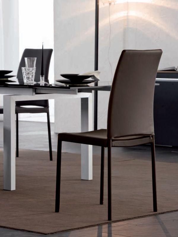 belem 7272 stuhl tonin casa mit leder oder kunstleder bezogen in verschiedenen farben. Black Bedroom Furniture Sets. Home Design Ideas