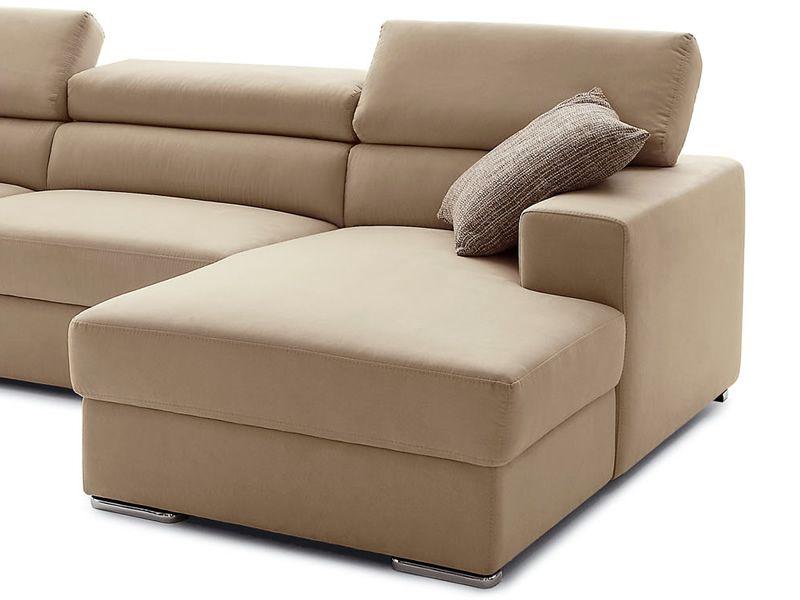 College a divano a 2 o 3 posti con chaise longue for Chaise longue speciale