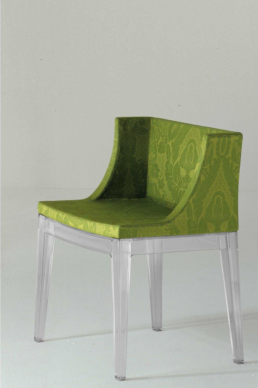 Mademoiselle petit fauteuil kartell de design avec structure en polycarbona - Fauteuil kartell mademoiselle ...