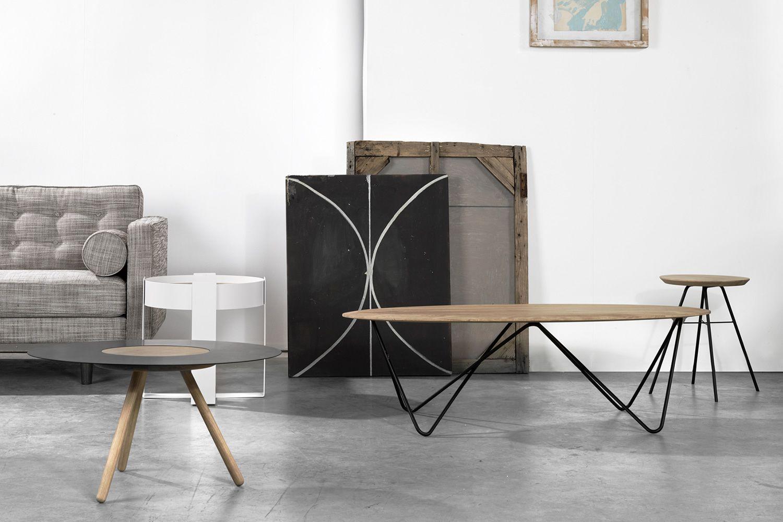 Orb Universo Positivo Metal Coffee Table With Wooden Top  # Meuble Tv Universo Positivo