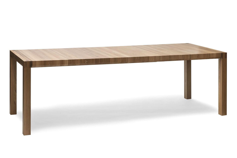Chop mesa ton de madera tapa rectangular 90 x 160 cms for Mesa extensible de madera