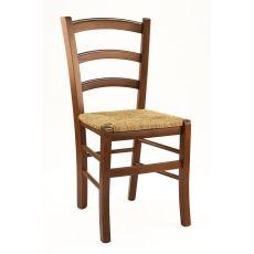 110 - Sedia moderna in legno per bar e ristoranti, disponibile in molte tipologie di finiture e sedute