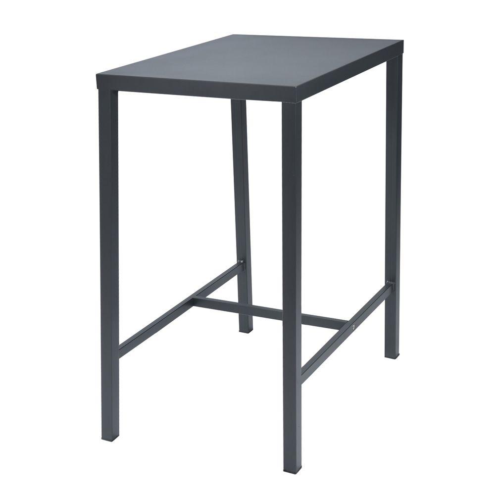 Rig72th tavolo alto in metallo diverse misure altezza for Tavolo giardino metallo