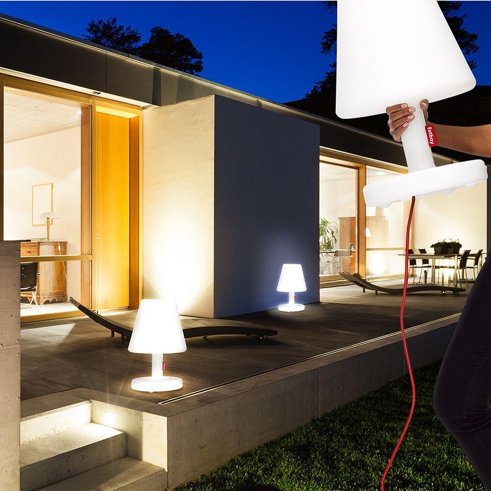Edison The Medium Tischlampe Fatboy Aus Polypropylen Mit