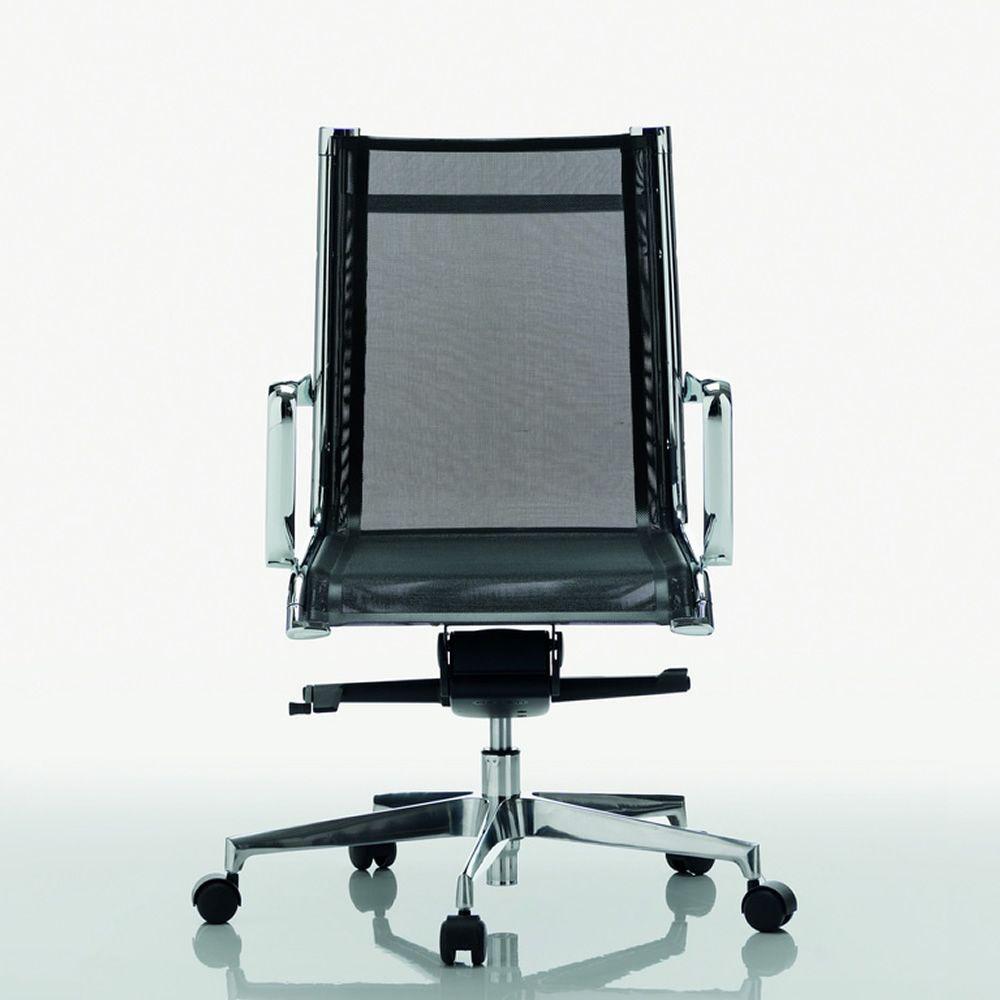Dekora low poltrona direzionale con schienale basso for Poltrone direzionali ufficio