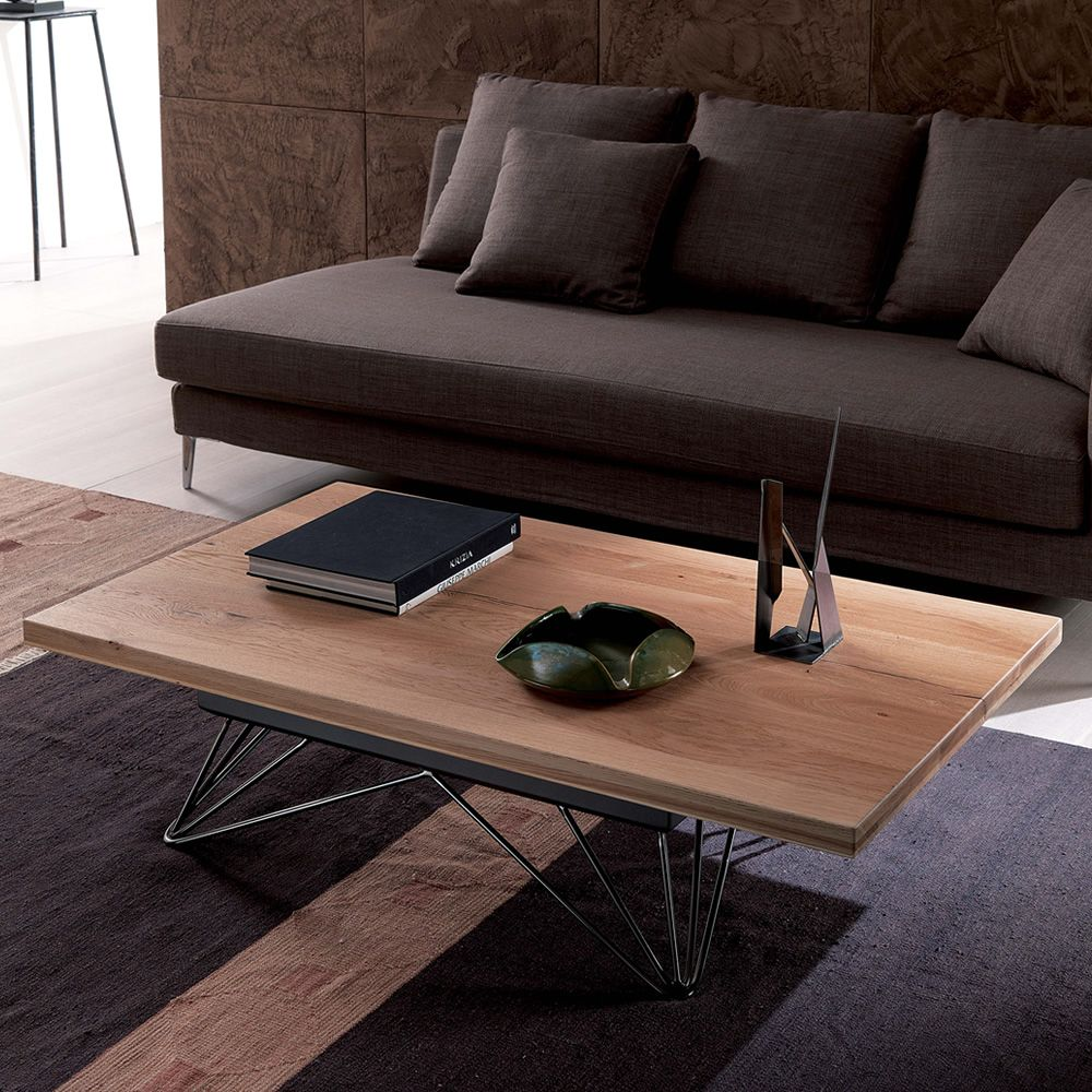 Radius petite table transformable et relevable en deux - Table basse relevable transformable ...