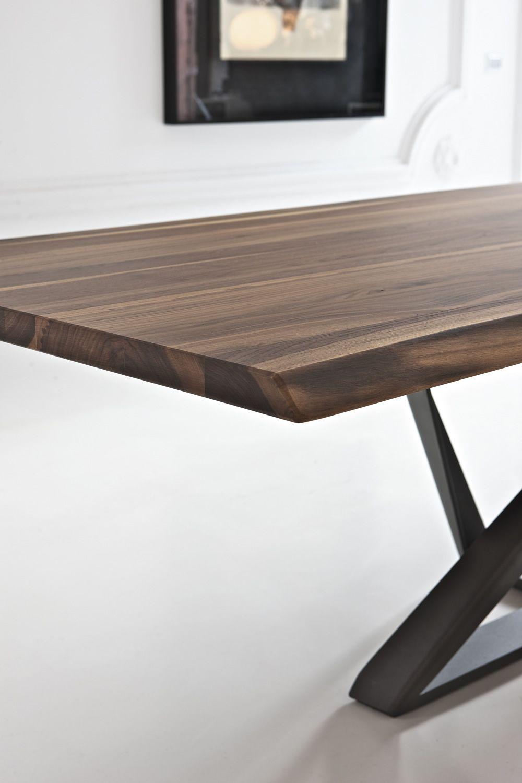 Millennium: Designer Tisch Bontempi Casa, aus Metall mit ...
