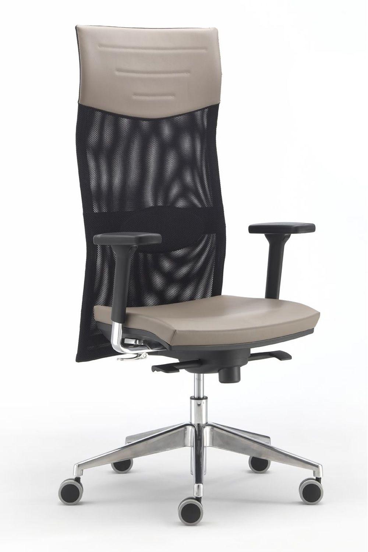 Ml496 sedia operativa da ufficio schienale alto in rete for Sedute da ufficio